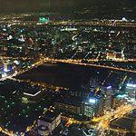 台北101で天空の風を感じ夜景を眺める