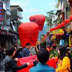 【台湾】台北の十份で天燈(ランタン)上げにチャレンジ!