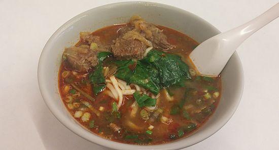 劉記川味牛肉麺